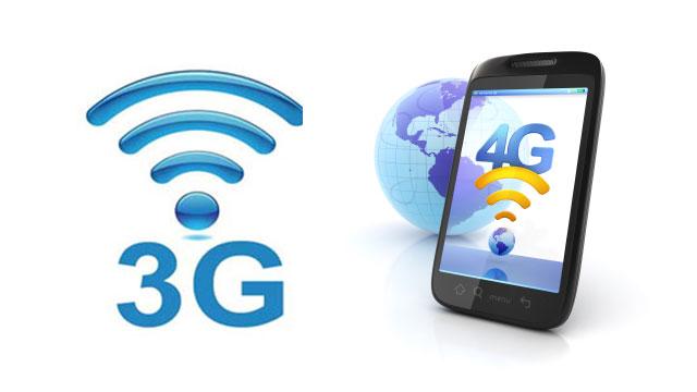 آشنایی با 4G و 3G