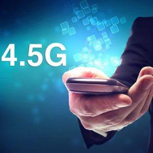 ویژگی های اینترنت پرسرعت نسل 4.5G